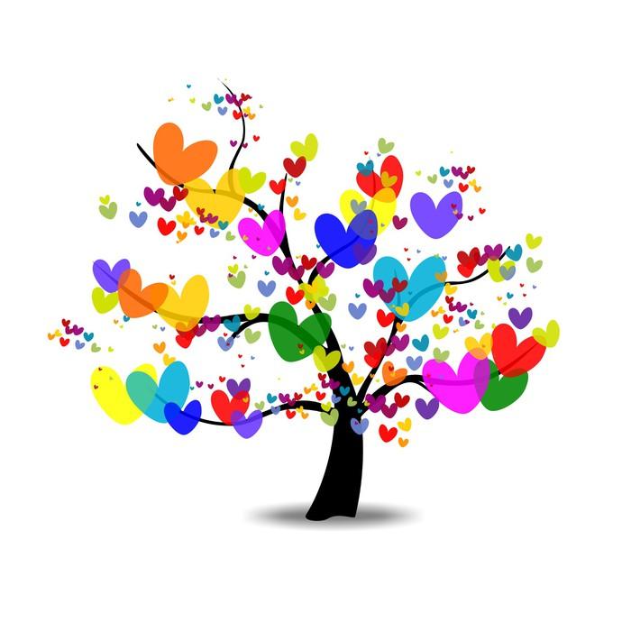 vinilo pixerstick arbol del amor arbol de la vida  u2022 pixers u00ae vivimos para cambiar Monarch Butterfly Clip Art Gold Butterfly Clip Art