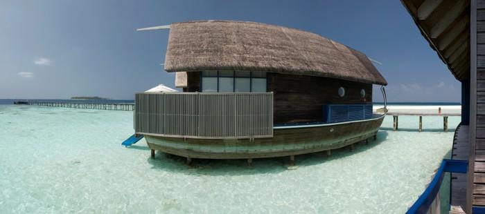 Vinylová Tapeta Overwater bungalov na laguně - Prázdniny