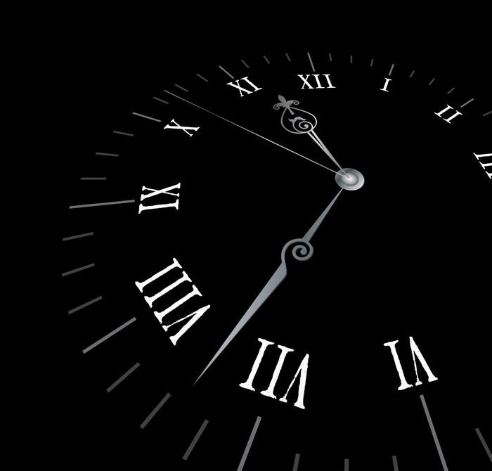 Fototapet Gamla klocka med romerska siffror • Pixers® - Vi lever för ... 60d1c2a21e