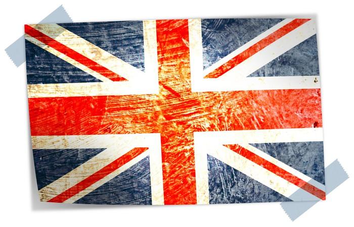 papier peint drapeau anglais pixers nous vivons pour. Black Bedroom Furniture Sets. Home Design Ideas