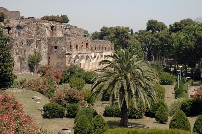 Vinylová Tapeta Vchod do ruin v Pompejích, Itálie - Evropa