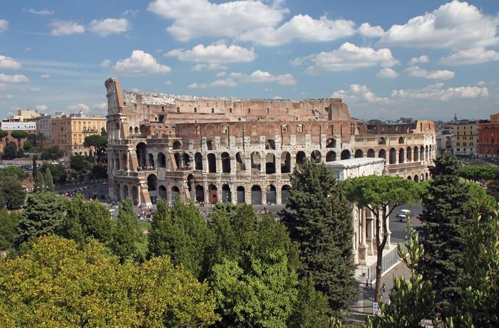 Carta da parati roma colosseo 005 pixers viviamo for Carta da parati roma
