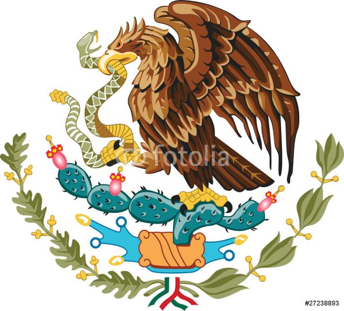 Fototapeta Winylowa Godło Meksyku - Naklejki na ścianę
