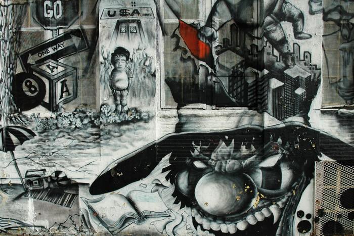 Fototapeta Winylowa Graffiti - Tematy