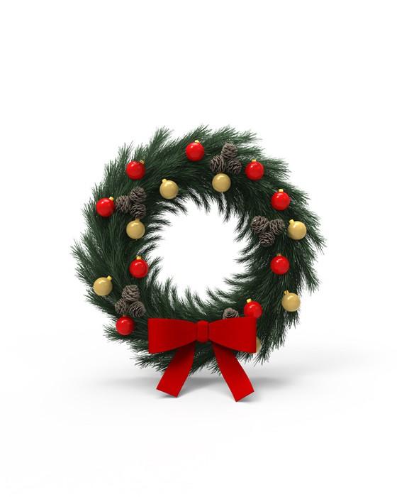 Vinylová Tapeta Weihnachts Kranz - Mezinárodní svátky