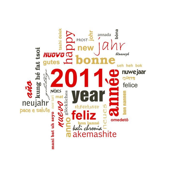 2011 bonne ann e dans toutes les langues poster pixers we live to change - Bonne annee dans toutes les langues ...