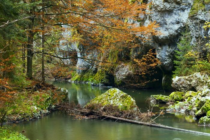 Vinylová Tapeta Národní park - Slovenský ráj, Slovensko - Evropa