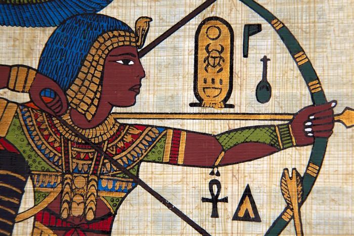 The Egyptian Vinyl Wall Mural