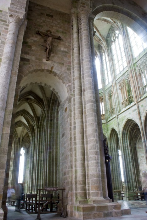 Vinylová Tapeta Mont Saint-Michel, Francie - Evropa