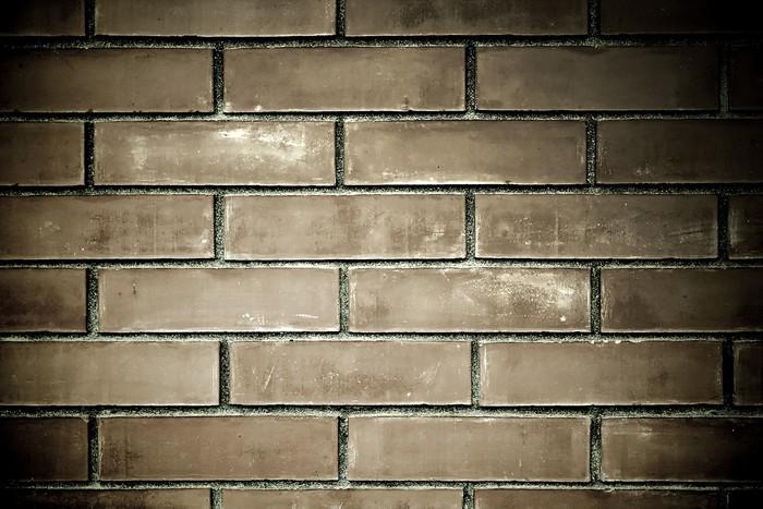 Vinylová Tapeta Black grunge cihlové zdi textury - Těžký průmysl