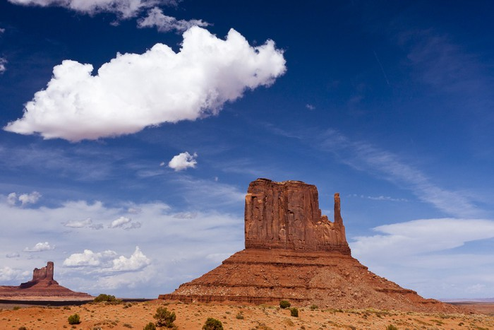 Vinylová fototapeta Východní rukavicí na Monument Valley - Vinylová fototapeta