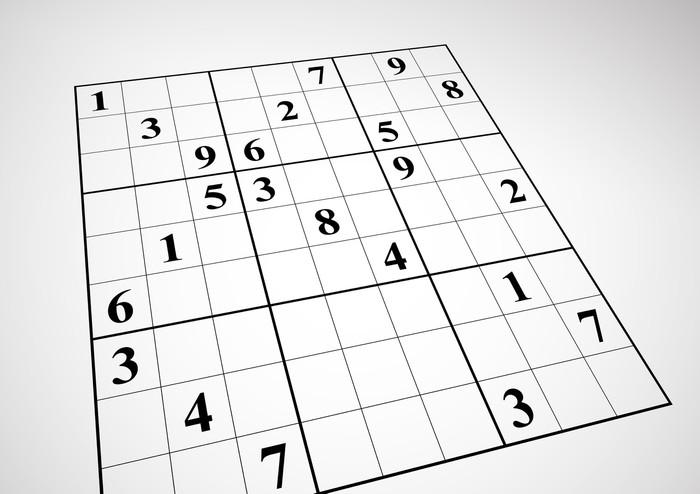 Nálepka Pixerstick Sudoku - Jiné pocity