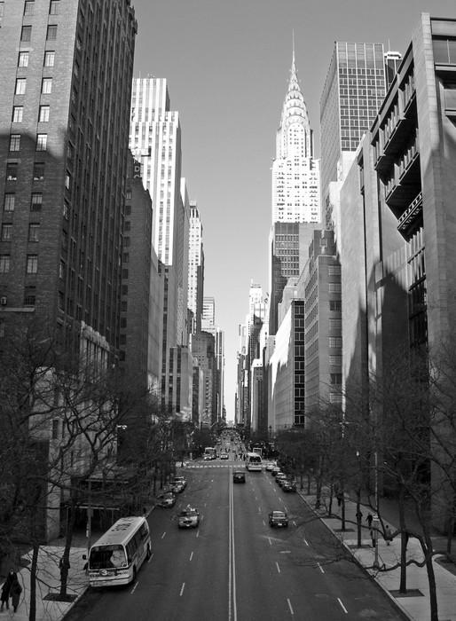 Vinylová Tapeta Východním Manhattanu - Témata