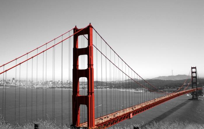 Golden Gate Bridge Wall Mural Pixers 174 We Live To Change