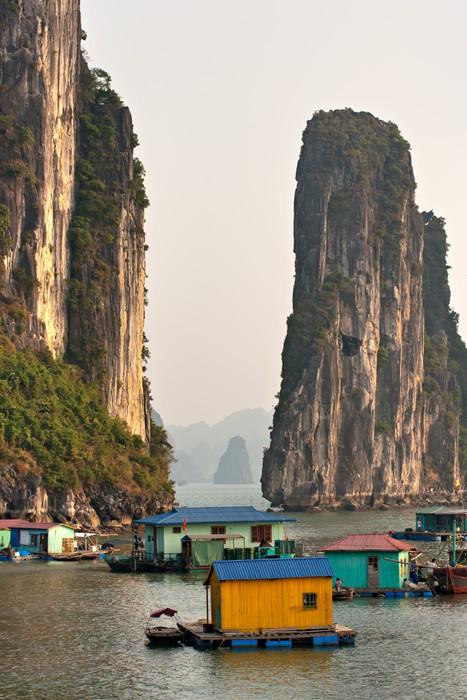 Vinylová Tapeta Halong Bay, Vietnam. Unesco World Heritage Site. - Asie