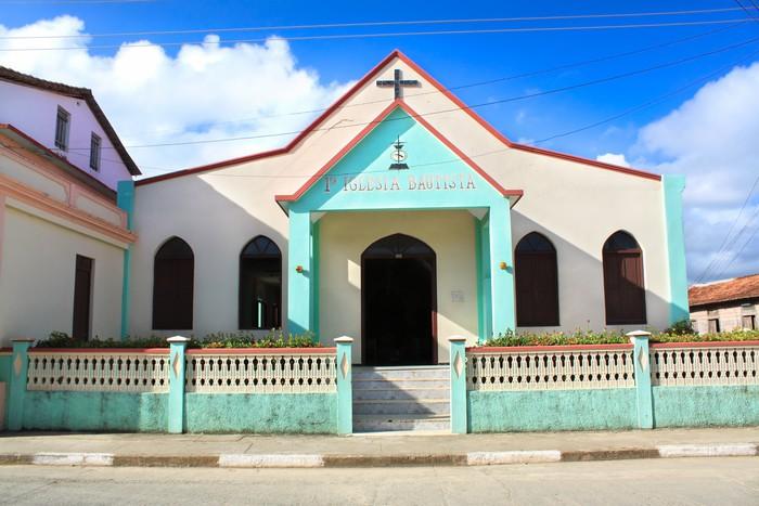Vinylová Tapeta Bautista kostel v Baracoa, Kuba - Amerika