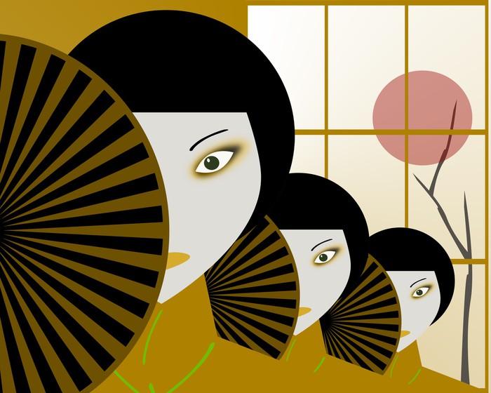 Papier Peint Vinyle Japonais - Thèmes
