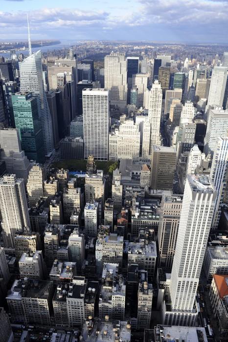 Vinylová Tapeta New york sky view - Americká města