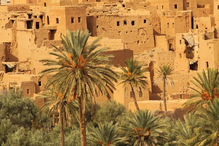Vinylová fototapeta Maroko Traditional Village - Vinylová fototapeta