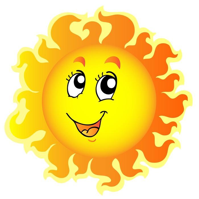 Fototapeta Roztomilý šťastné Sun • Pixers® • Žijeme pro změnu