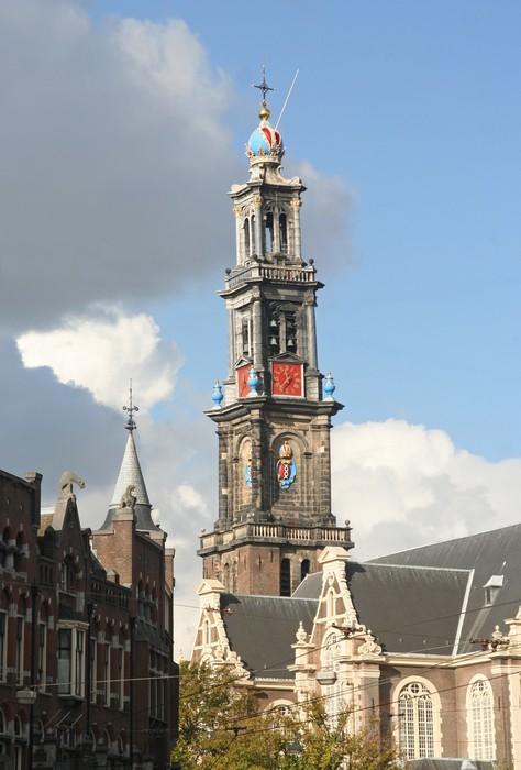 Vinylová Tapeta Amsterdam Wester církev - Evropská města