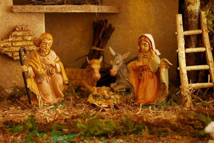 Vinylová Tapeta Nativity Scene - Náboženství