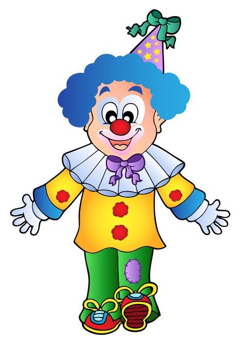 Výsledek obrázku pro klaun kreslený