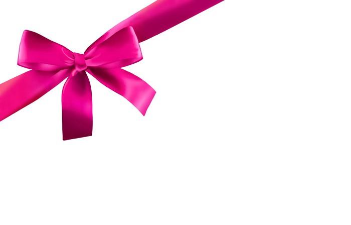 Vinylová Tapeta Pink Ribbon - Mezinárodní svátky