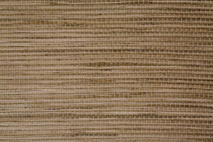 Vinylová Tapeta Zeď z ratanu - Struktury