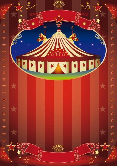 Fototapete Zirkus Show Flyer Pixers 174 Wir Leben Um Zu
