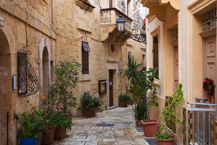 Vinylová Tapeta Ulice ve starém městě středozemí - Evropa