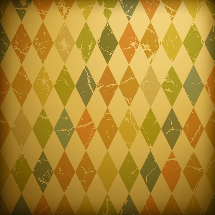 Vinylová Tapeta Grunge retro pozadí - Pozadí