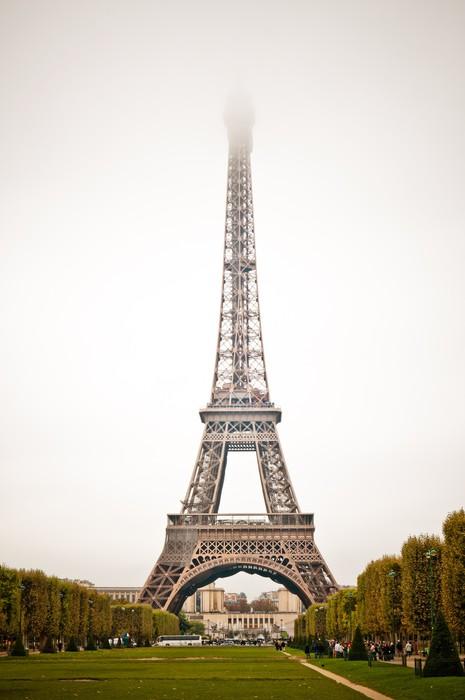 Vinylová Tapeta Paříž, krásné Eiffelova věž. Žába - Památky