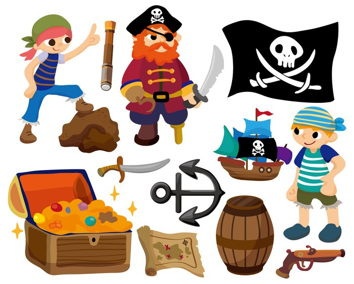 papier peint dessin anim pirate ic ne pixers nous vivons pour changer. Black Bedroom Furniture Sets. Home Design Ideas