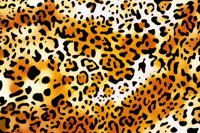 Vinylová Tapeta Blázen leopard tapety - Pozadí