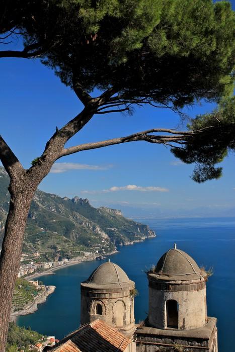 Tapeta Winylowa Almalfi Coast, Włochy - Europa