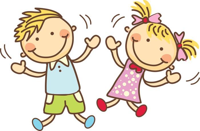 Znalezione obrazy dla zapytania bawiące się dzieci rysunek