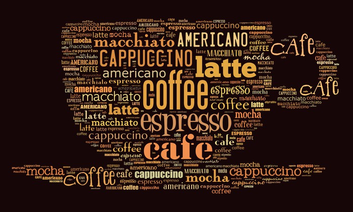 Poster for decorate cafe or coffee shop Wall Mural Pixers We