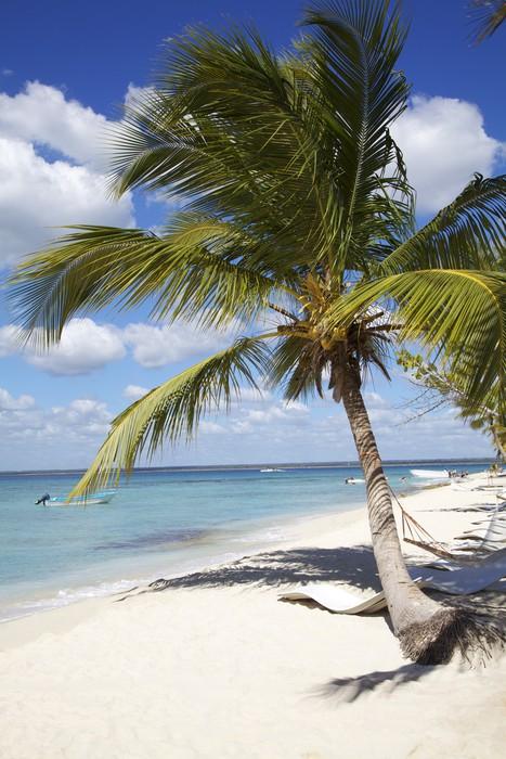 Vinylová Tapeta Idylické bílé písčité pláže - Prázdniny