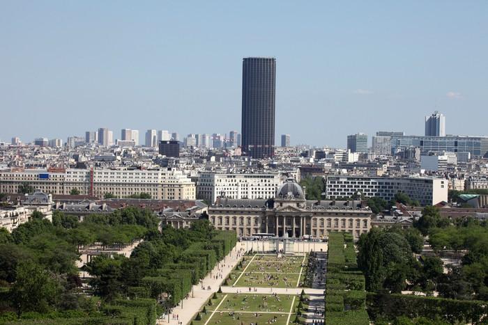 Vinylová Tapeta Letecký pohled na Paříž. - Město