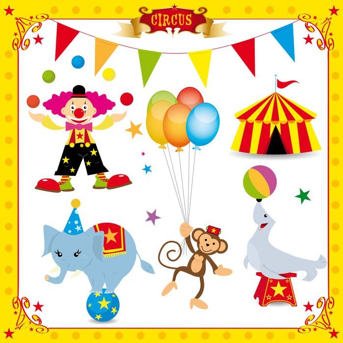 Vinylová Tapeta Fun cirkusu sada - Zábava