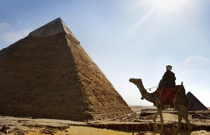Vinylová fototapeta Pyramidy v Gíze., Káhira, Egypt - Vinylová fototapeta