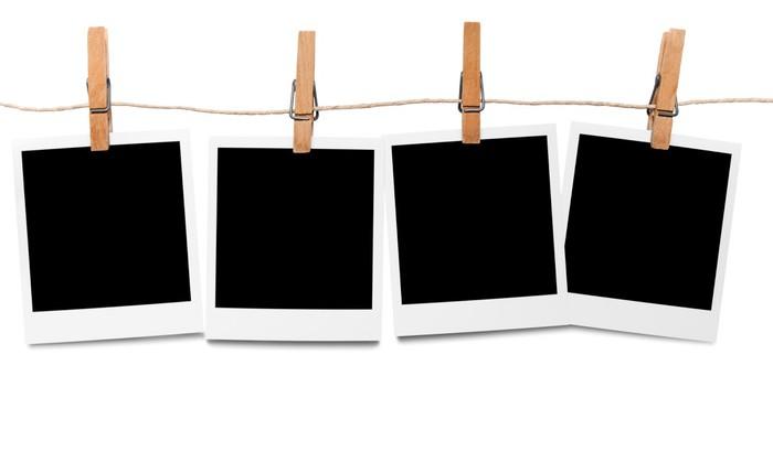 sticker blank polaroid cadres photo en ligne pixers nous vivons pour changer. Black Bedroom Furniture Sets. Home Design Ideas