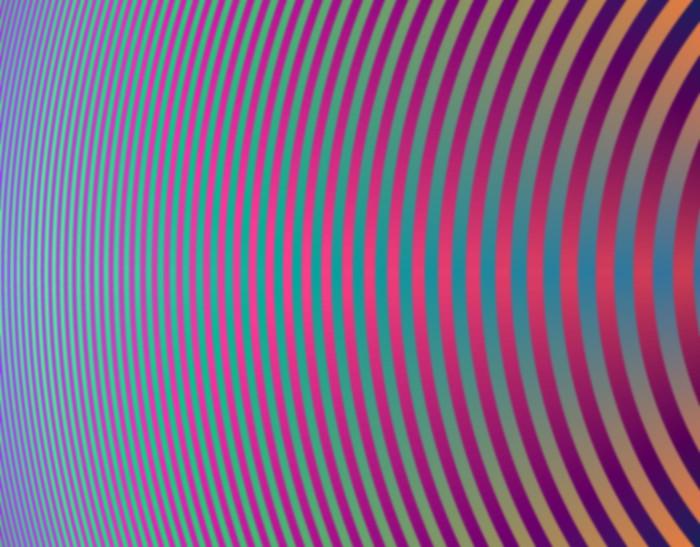 Vinylová Tapeta Hypnotický křivky - Pozadí