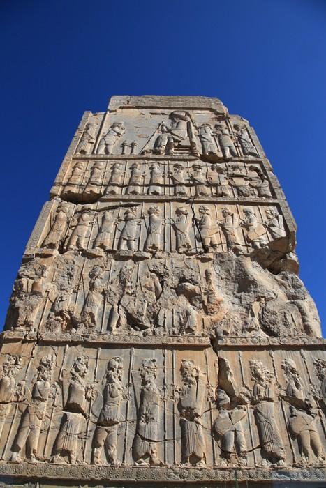 Vinylová Tapeta Persepolis - zřícenina Xerxes & Darius paláce - Asie