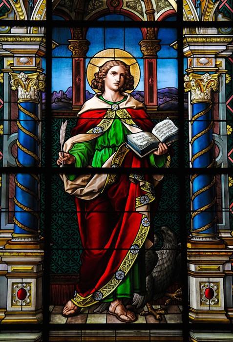 Vinylová fototapeta Saint John evangelista - Vinylová fototapeta