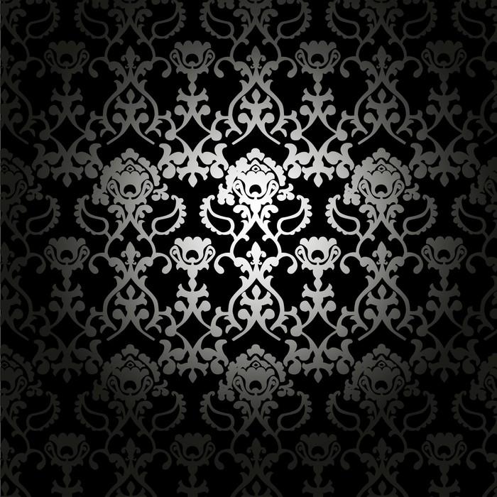 papier peint tissus noir et blanc pixers nous vivons pour changer. Black Bedroom Furniture Sets. Home Design Ideas