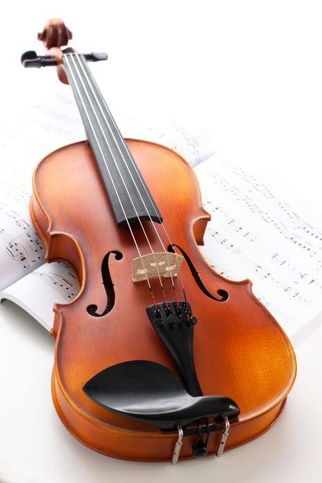 Vinilo pixerstick instrumentos musicales viol n pixers for Vinilos decorativos instrumentos musicales