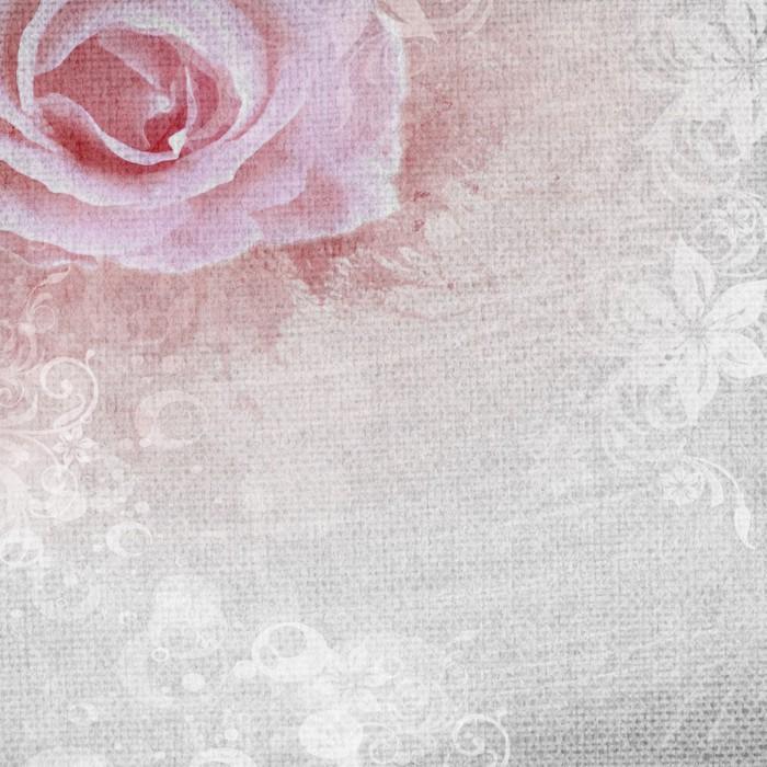 tableau sur toile grunge fond romantique de rose pixers nous vivons pour changer. Black Bedroom Furniture Sets. Home Design Ideas