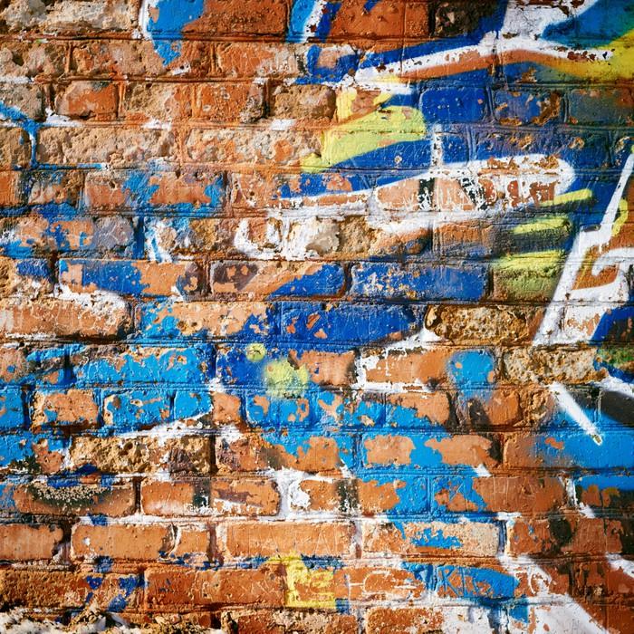 papier peint mur de briques dans le ghetto pixers. Black Bedroom Furniture Sets. Home Design Ideas